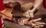 Jesus Is Nailed to Cross