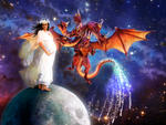 Woman and Dragon of Revelation 12