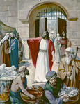 Jesus and Moneychangers