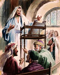 Jesus Preached in the Synagogue