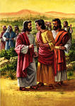 James and John Ask a Favor of Jesus