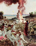 Elijah's Sacrifice at Mount Carmel