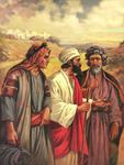 Paul, Barnabas, and John Mark