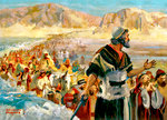 Joshua Leading the Children of Israel Across the Jordan